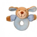 Toys - Baby - Rattle - Blue bear  - (pink one available separately )