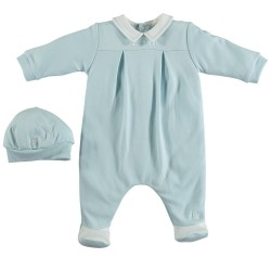 Emile et Rose - James babygrow with hat -  1m,3, 3m