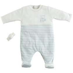 Emile et Rose - Jamie - babygrow & rattle 1m - 1 left