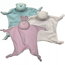 Emile et Rose - Comforters - choice of 3 - bunny or pirnk/blue bear - not in sale