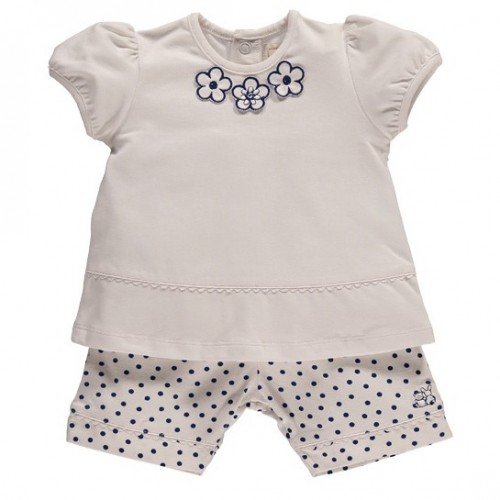 Emile et Rose - Hayley 2pc set  navy - 1m, 3m