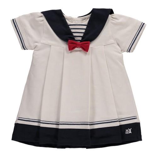 Emile er Rose - Dress - Horizon sailor dress - hat & pants - 1, 3, 6m - sale