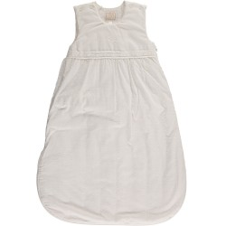 Emile et Rose - Guild 2.5 tog Baby Sleeping Bag, White woven  - UNISEX in SALE 0-6m