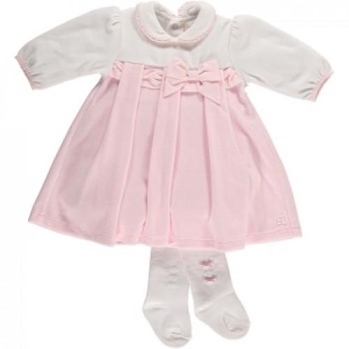 Dress - Emile et Rose Girls Felicity Dress and Tights 6271 - 6m,