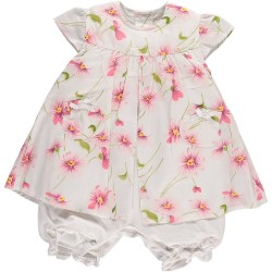 Emile er Rose - Dress/romper-  Emmy in pink - 9m  - SALE