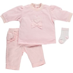 Set - EMILE ET ROSE SUIT & SOCKS in SALE - 12m