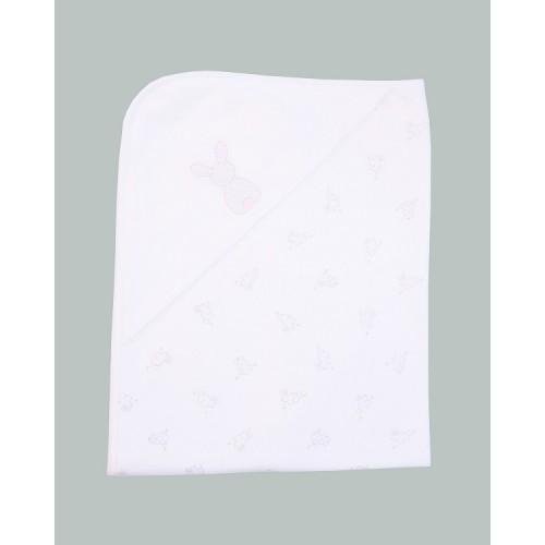 Emile et Rose - Blanket - Swaddling Cuddle Wrap - White Pink - sale