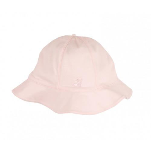 Emile et Rose - Strech jersey pink Sunhat  1m,6m