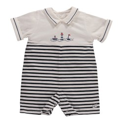 Romper - Emile et Rose Hester - navy and white SALE 1m