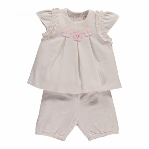 Emile et Rose - Heather - 2pc top and shorts set - 3m, 6m, 9m, 18m - sale