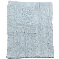 Emile et Rose - Blanket - Pale Blue - sale