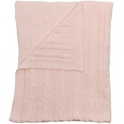 Emile et Rose - Blanket - Pale Pink - sale