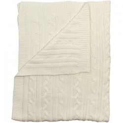 Emile et Rose - Blanket - White - sale