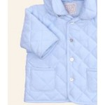 Emile et Rose - Microfibre wadded Jacket with detachable Hood - Pale Blue in SALE 23m - clearance sale (slight dust marks from display in the shop )