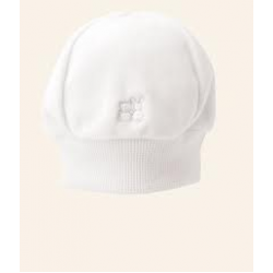 Emile et Rose - Hat - White in Velour - 1m, 3m
