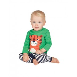 Top - Frugi - Little Discovery - Tiger, 3-6 in SALE