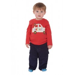 Top - Frugi Little Discovery - Police 0-3,m Sale last one