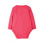 Body - Frugi Spotty Body - Raspberry Dot -  2-3y - sale