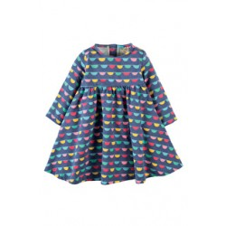 Dress - Frugi Tess Twirly Dress - Bunting -3-4y - sale