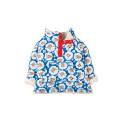 Fleece - Frugi Little Snuggle Fleece - Baa Baa 12-18, 18-24, 2-3y 3-4y