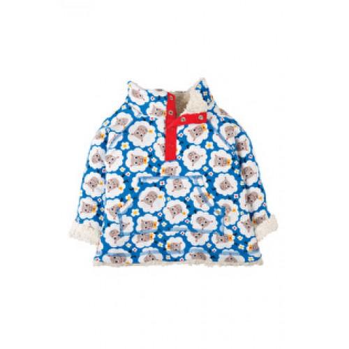 Fleece - Frugi Little Snuggle Fleece - Baa Baa  - last  12-18, 18-24 m  - sale