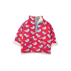 Fleece - Frugi Little Snuggle Fleece - Rainbow Robins SFA701 - size 12-18,  2-3, 3-4y 6-12m  in sale