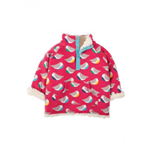 Fleece - Frugi Little Snuggle Fleece - Rainbow Robins SFA701 - size 12-18,  2-3, 3-4y 6-12m  in sale