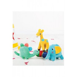 Rattle - Froogli Soft Rattle - Squidge/Elephant  (2x) and Giggles/Giraffe (2x) Dino is sold out