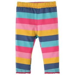 Leggings - Frugi Little Libby Leggings - Dolly Rainbow stripe 0-3, 3-6