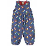 Dungarees - Frugi Willow - Cord - Winter Robins - 6-12m and   2-3y  - sale