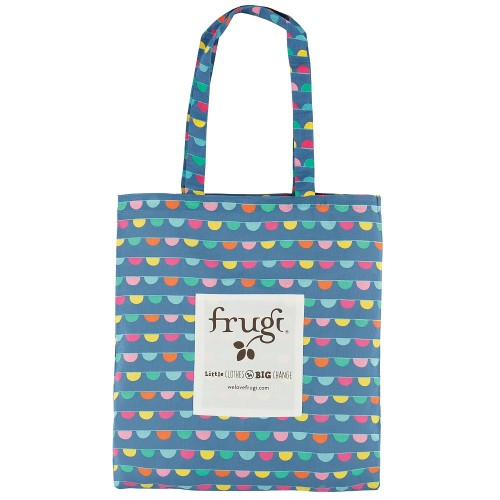 BAG - Frugi -  Organic Cotton Tote Bag - Large - Bunting - last one