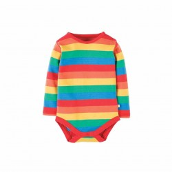 Body - Frugi - Rainbow stripe - 0-3, 3-6m  - sale