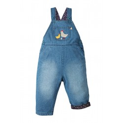 Dungarees - AW18-  Frugi -Hopscotch Dungaree - Chick  - 18-24m last one - sale