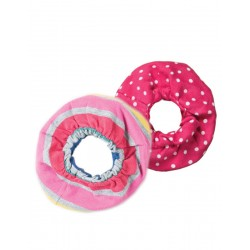 Hair - FRUGI - Hair accessory-  Hair Scrunchies 2 pack - Rainbow Breton - sale
