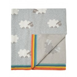 Blanket - Frugi - AW18 - drop 1 - Snug as a Bug Blanket - Little Lambs