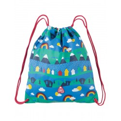 Bag - Frugi - AW18 - Ready Steady Go Bag - Sail Blue Alpine Town
