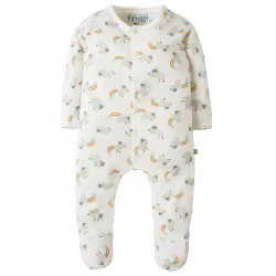 Babygrow - Frugi - AW18 - drop 1 - My First Babygrow - Little Lamb - 0-3m, 3-6m