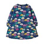 Dress - Frugi - Becky -  Brushback Dress Top - Bright Scandi Skies - 0-3, 3-6,  6-12m   sale