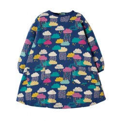 Dress - Frugi - Becky-  Brushback Dress - Bright Scandi Skies - 0-3, 3-6,  6-12m   sale