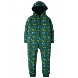 Snuggle suit - Frugi - AW18 - BIG - Dino Trek - 2-3y (size up is recommended )