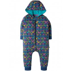 Snuggle suit - Frugi - AW18 - Scandi birds - 0-3, 3-6, 6-12, 12-18, 18-24m
