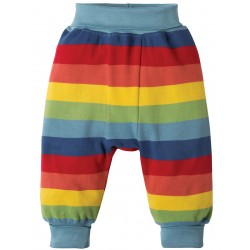Pants - Frugi Parsnip - AW18 - Rainbow Stripe - 3-6,  6-12, 12-18, 18-24m and 2-3, 3-4y