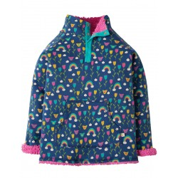 Fleece - Frugi - AW18 - REVERSIBLE Snuggle Fleece - Perfect Day - 2-3, 3-4, 4-5, 5-6, 6-7 ,7-8, 8-9, 9-10y