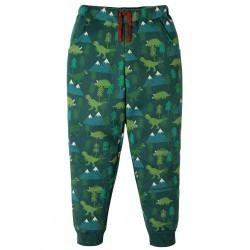 Trousers - Frugi - AW18 - Printed Snug Jogger Crawlers - Dino Trek - 2-3, 3-4, 4-5, 5-6, 6-7, 7-8, 8-9, 9-10