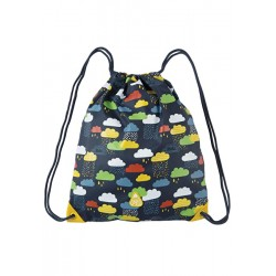 Bag - Frugi - Ready Steady Go Bag - Warm Scandi Skies Clouds - sale