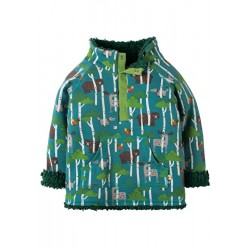 Fleece - Frugi - drop 3 - AW18 - REVERSIBLE -Hide and Seek - 6-12, 12-18-18-24m and 2-3, 3-4y
