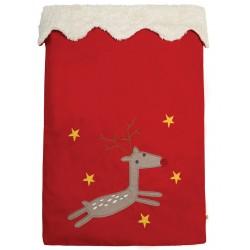 Santa Sack - Frugi - AW18 - drop 5 -  Mars Red Reindeer - limited stock