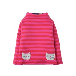 Top - Frugi - Rita - Stunning Reversible - HYGGE CATS -   4-5y last one in - CLEARANCE 45% off - No return