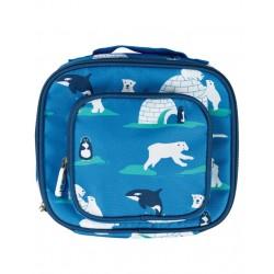 Bag - Frugi - Pack A Snack Lunch Bag - Polar Play -  SALE