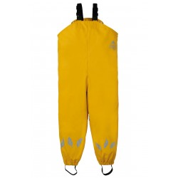 Outerwear - Frugi - AW19 - BACK TO SCHOOL -  Puddle Buster trousers - yellow bumble bee -  4-5, 5-6 ,6-7,  7-8